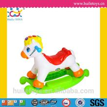 2016 Best selling plastic baby toy musical riding toy with light for wholesales
