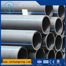 PE100 PE80 water supply HDPE pipe large diameter plastic pipe