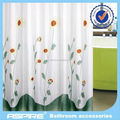 new design printed 100 polyester shower curtain
