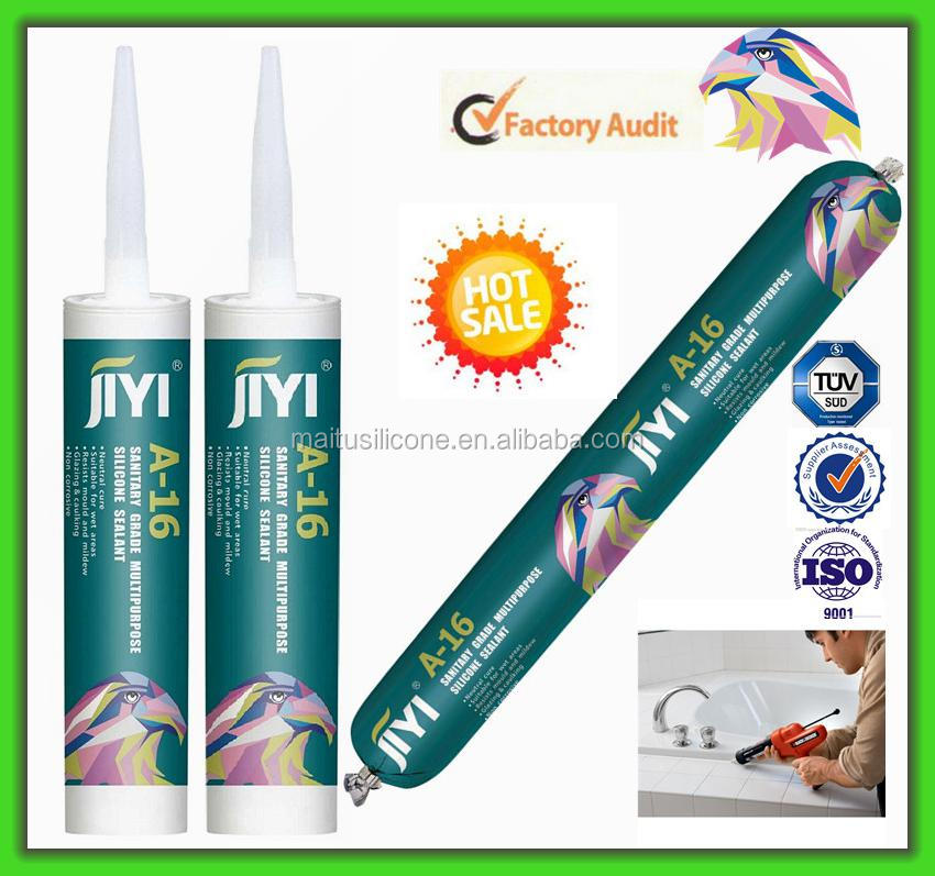 Toilet (Washroom) Kitchen Fungus Proof & Bath Silicone Sealant Adhesive