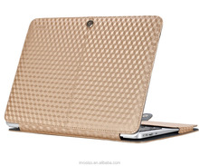 Latest Design Laptop PU Leather Book Cover Case for Macbook Air 11 13