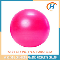 2015 hot sale anti-burst yoga balls for pregnancy PVC packaged with color box ,free pump foot or hand
