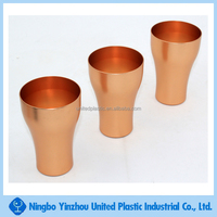 10oz high quality copper color aluminum mug beer drinking cup
