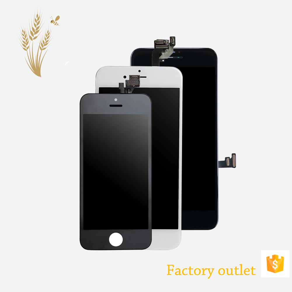 spare for cell phone repair parts for iphone 7 , phone parts lcd display screen for iphone 7 phone unlocked