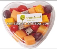 PET plastic fresh-cut fruit mix packaging container
