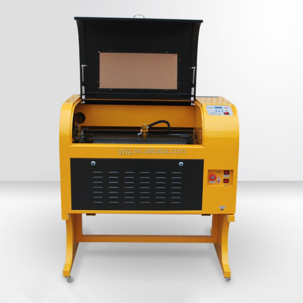 Hot sale GY4060 600x400mm CO2 laser engraving cutting machine engraver 40w