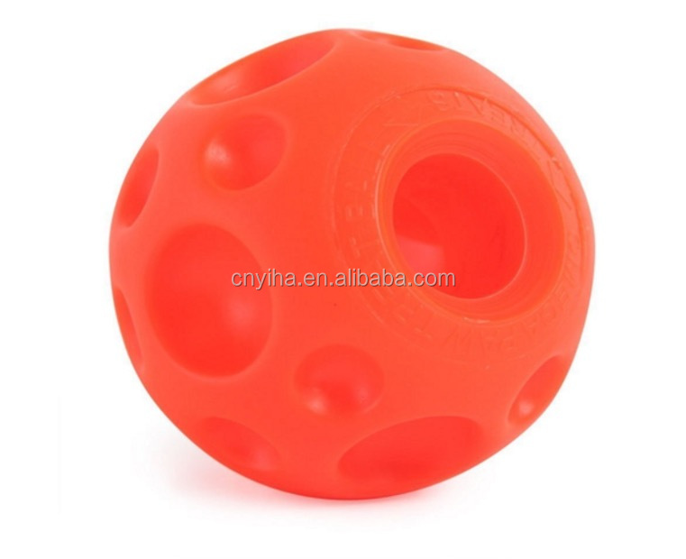 food dispensing dog chew ball indestructible treat ball dog toy for training