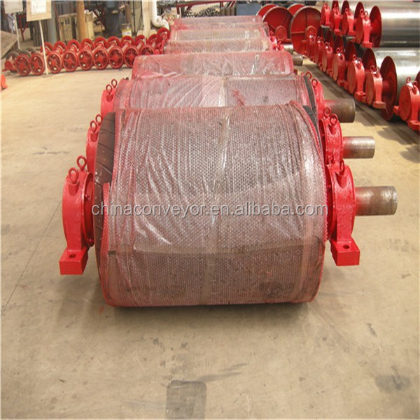 500mm diameter rubber lagging drum drive conveyor pulleys for sale