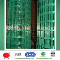 PVC coated green welded wire mesh rolls