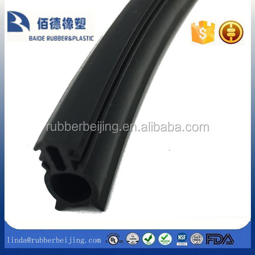 black PVC Window & Door Wedge Gasket Double Glazing Rubber Repair Seal PVC