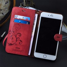 Leather Cards Kickstand Wallet Case Cover For Apple iPhone 5S 5C 6 6s Plus SE