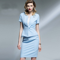 Women's Professional Clothing for Working Office Lady Uniform Suit