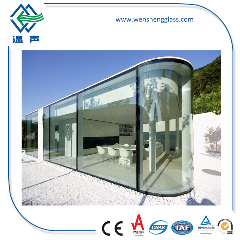 High Standard Tempered Glass for Steel Frame Building Skylight Cover