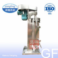 High Speed Tubular Oil-Water Centrifuge Separator for Coconut Oil Separation