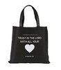 Trust In the Lord With all Your Heart Tote Non-Woven Reycled Nylon Bag Great Gift Ideas for Sunday School Teachers and Youth