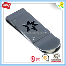 star embossed money clip personalized