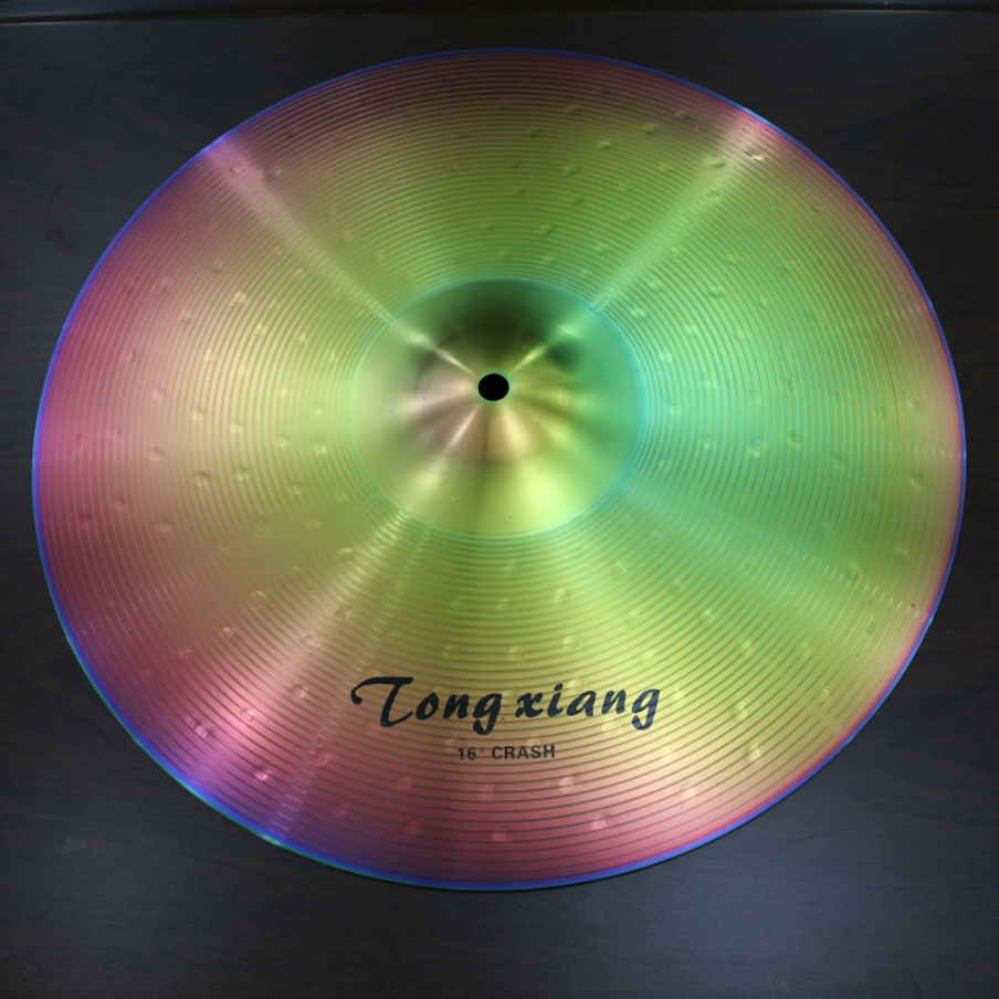 Musical instrument low volume cymbal set for tongxiang sale