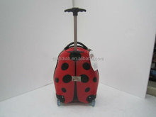Kid's school bag ABS+PC ALUMINIUM FRAME LUGGAGE TROLLEY CASE ABS luggage carry on luggage