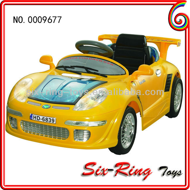 2013 best sell coin operated car kids ride on car