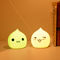 colorful and customizable silicone lamp for children gift