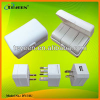 Universal Travel Adapter with USB (DY-31U)