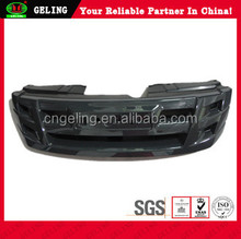 Used Japanese car body kits or car parts For ISUZU DMAX black grille