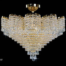 modern cheap egyprian spiral crystal chandelier