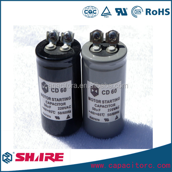 cd60 motor starting 110v-330v capacitor farad electrolytic capacitor