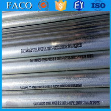 trade assurance supplier specific heat galvanized steel 2 inch galvanized pipe and fittings