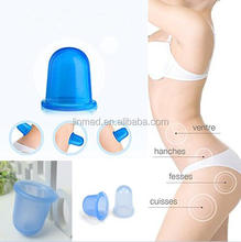 Health Care Portable Silicone Vacuum Suction Cup Massage Cupping Set