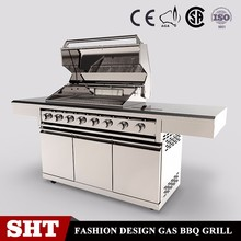 Hot selling outdoor gas grill with oven