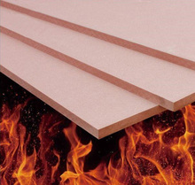high quality 12mm fire rated door mdf base board