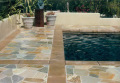 nature stone swimming pool coping stone