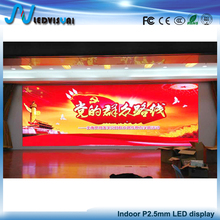 P2.5 indoor full color smd led display screen 2.5mm indoor led module