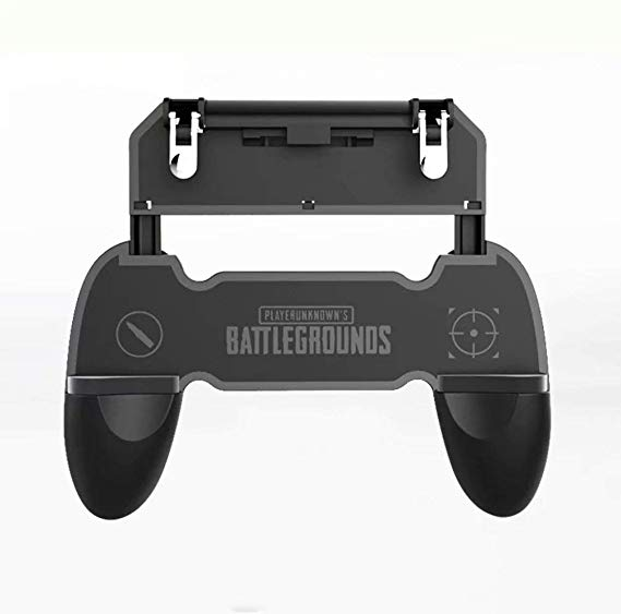 3 in 1 gamepad with w10 fire key trigger Black color phone game <strong>controller</strong> L1R1 trgger