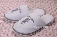 hotel luxury velour material bedroom slippers of diesel