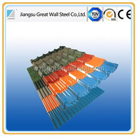 Metal roofing PPGI/Color Coated GI Sheet/Roof Tile Used color coated steel coil
