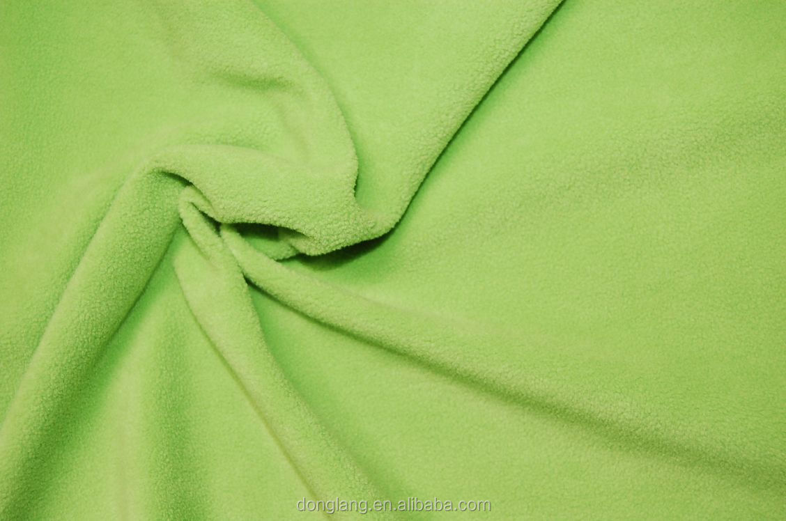 TPU bonded polar fleece fabric