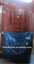 real photo high quality cheapest steel door design