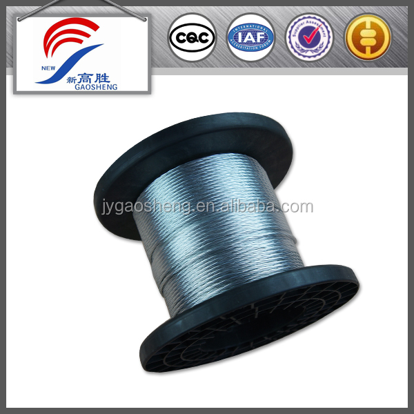 1x7 2.7mm Galvanised Binding Wire