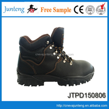 2017 new fashionable black safety shoes for men