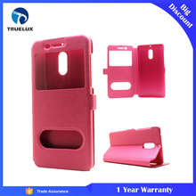New Style View Flip Leather Case For Nokia 6 Mobile Phone , For Nokia 3310