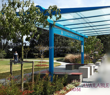 Great outdoor media shelters , waiting shelters , bus stop glass shelters for sale