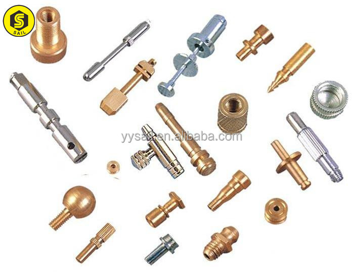 OEM machining small parts with zinc plated steel part