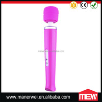 Rechargeable 20 Speed Female Vagina Magic Wand Massager xxl vibrator sex