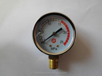 aseismatic lpg pressure gauge with CE