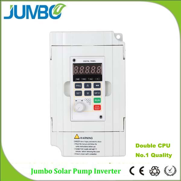 Jumbo solar pumping water system soft start VFD MPPT reliable pump controller