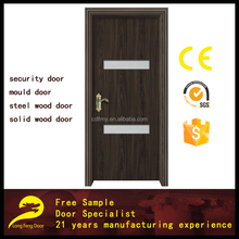decorative interior used fiber glass moulded toilet door