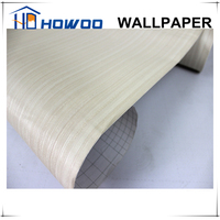 Howoo home deco wall sticker wallpaper wood texture wall covering