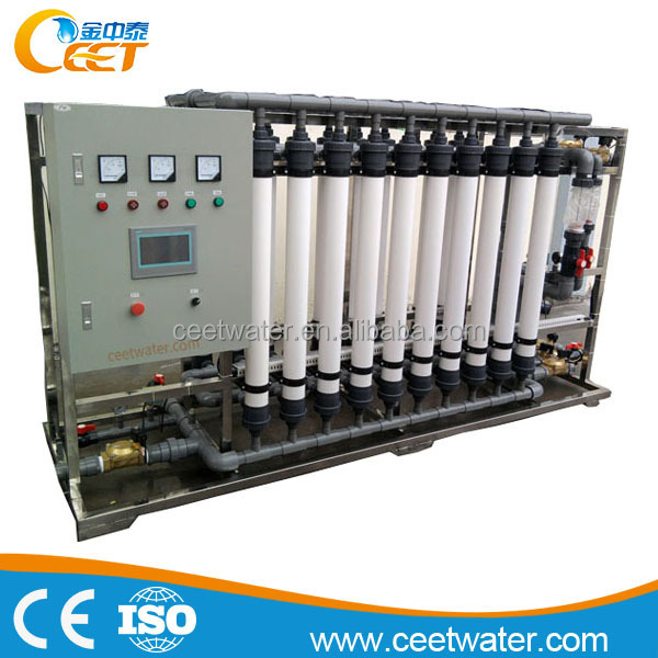 40T/H Ultra filtration systems purified Alkaline Drinking Water equipment price